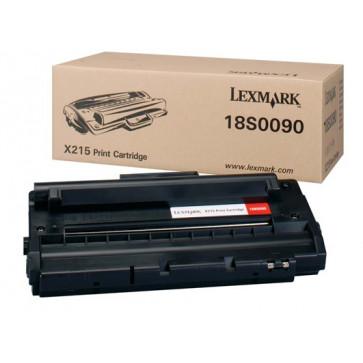 Toner, black, LEXMARK 18S0090