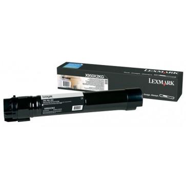 Toner, black, LEXMARK X950X2KG