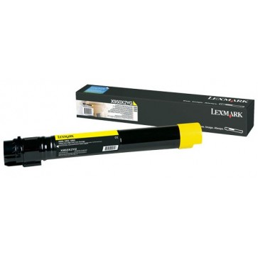 Toner, yellow, LEXMARK X950X2YG