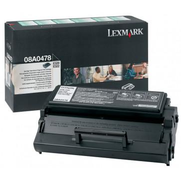 Toner, black, LEXMARK 08A0478