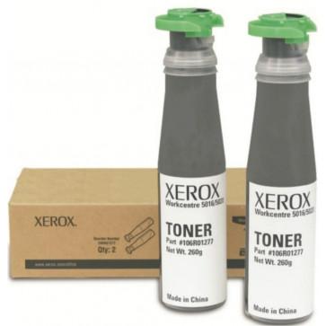 Toner, black, 6300 pagini, 2 buc/cutie, XEROX 106R01277 Work Centre 5020