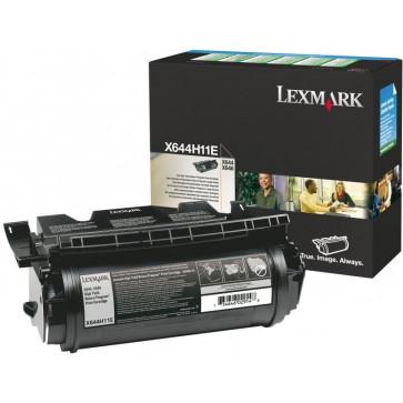 Toner, black, LEXMARK X644H11E