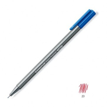 Liner 0.3mm, roz inchis, STAEDTLER Triplus