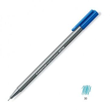Liner 0.3mm, albastru deschis, STAEDTLER Triplus
