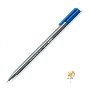 Liner 0.3mm, maro deschis, STAEDTLER Triplus