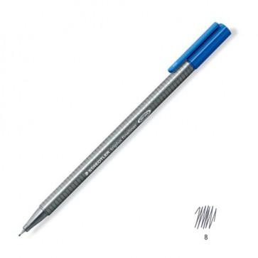 Liner 0.3mm, gri inchis, STAEDTLER Triplus