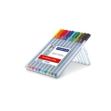 Set liner 0.3mm, 10 culori/set, STAEDTLER Triplus