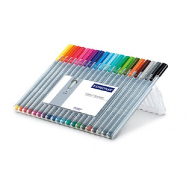 Set liner 0.3mm, 20 culori/set, STAEDTLER Triplus