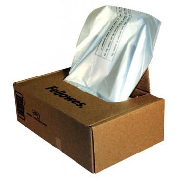 Saci pentru distrugatoare de documente, 165l, 50 bucati/cutie, FELLOWES