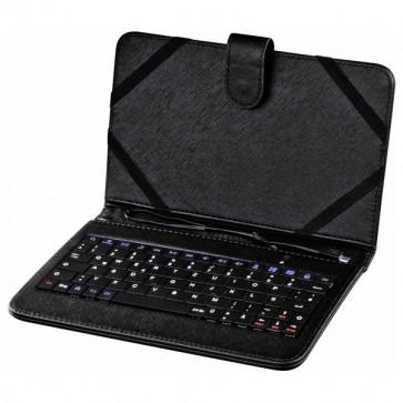 """Husa de protectie cu tastatura HAMA pentru tableta de 10.1"""", negru"""