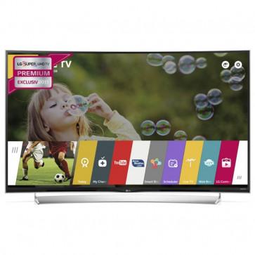 Televizor curbat LED Ultra HD 3D, Smart TV, 139 cm, LG 55UG870V