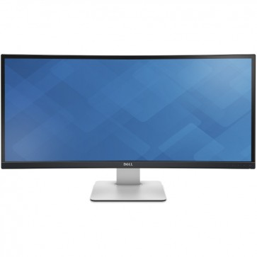 Monitor LED DELL UltraSharp U3415 Curbat 34 inch 5ms silver-black