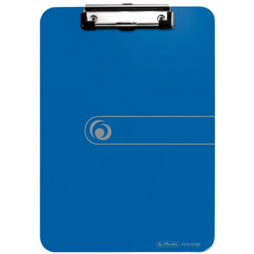 Clipboard Simplu, A4, Albastru Opac, HERLITZ, Easy Orga To Go