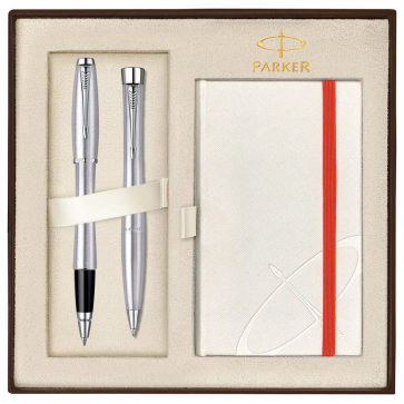 Set PARKER Urban Metro Metallic CT - Roller + Pix