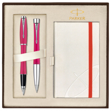 Set PARKER Urban Fashion Cool Magenta CT - Stilou + Pix