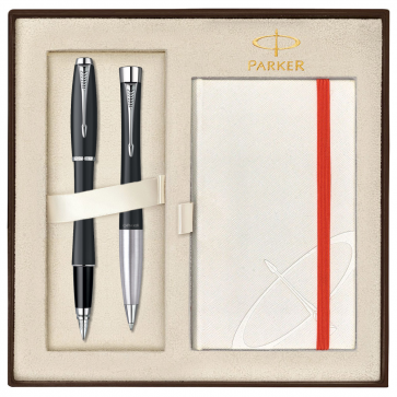 Set PARKER Urban Muted Black CT - Stilou + Pix