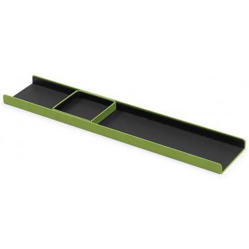 Suport birou, din imitatie de piele, verde, FEDON Charme Vasc-Oggetti