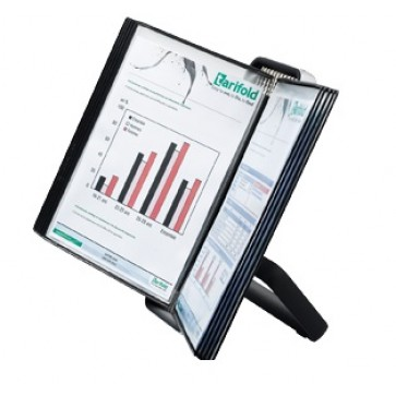 Sistem de prezentare pt. birou, negru, TARIFOLD VEO