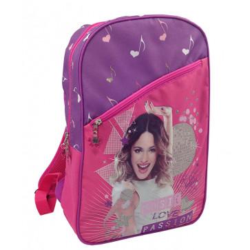 Ghiozdan scolar, 1-4, 43 x 30 x 12cm, roz cu mov, PIGNA Violetta