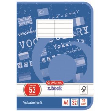 Vocabular A6, 32 file, HERLITZ