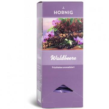 Ceai din fructe de padure BIO, 25 plicuri triunghiulare, J. HORNIG