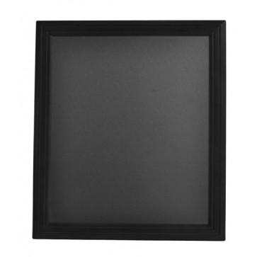 Tabla pentru creta, rama din lemn negru, 40 x 50cm, SECURIT Universal