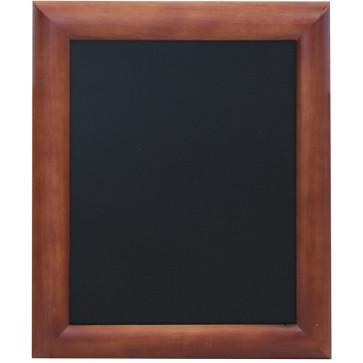 Tabla pentru creta, rama lemn maro inchis, 30 x 40cm, SECURIT Universal