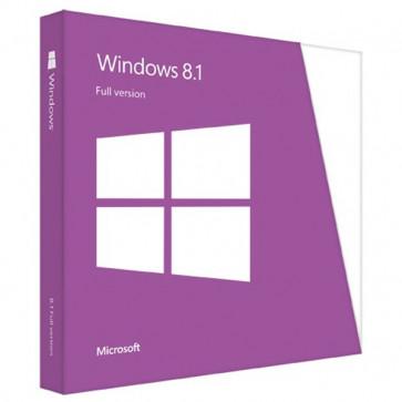 Microsoft Windows 8.1 FPP, Engleza, 32/64bit, DVD
