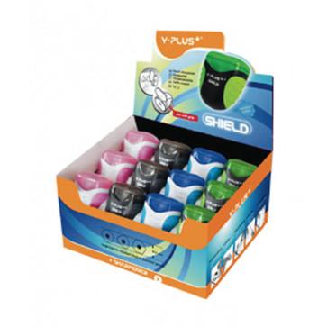 Ascutitoare din plastic, cu container, PIGNA Shield Y-Plus+