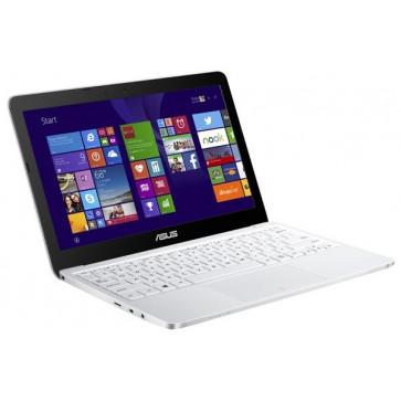 """Laptop ASUS EeeBook X205TA-BING-FD007BS, Intel® Atom™ Z3735F pana la 1.83GHz, 11.6"""", 2GB, eMMC 64GB, Intel® HD Graphics, Windows 8.1, alb"""