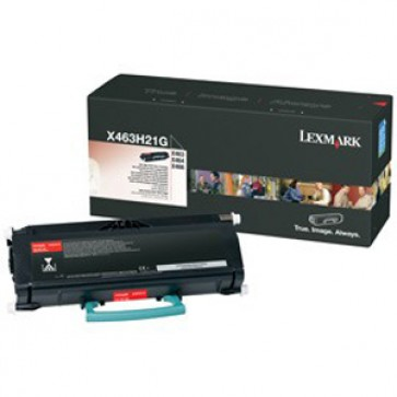 Toner, black, LEXMARK X463H21G
