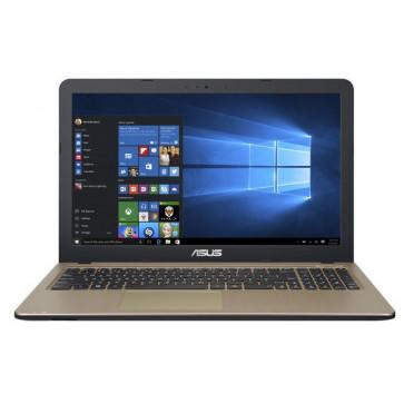 """Laptop ASUS X540SA-XX004D, 15.6"""" HD, Intel Celeron N3050 pana la 2.16GHz, 4GB, 500GB, gold, free Dos"""