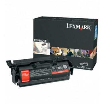 Toner, black, LEXMARK X651A21E