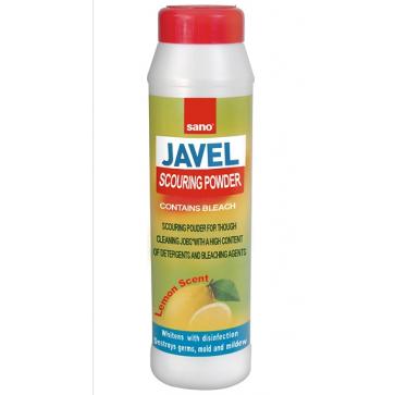 Detergent praf cu clor pt. uz universal, 600 gr, SANO Javel X Powder