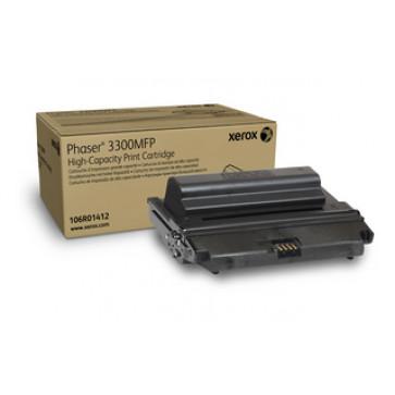 Toner, black, XEROX 106R01412