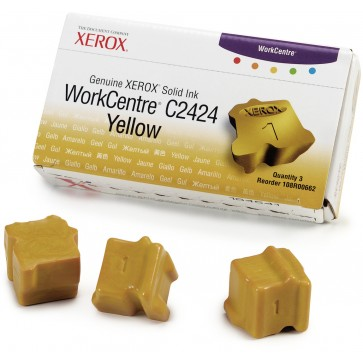Cartus, yellow, 3 sticks, XEROX 108R00662