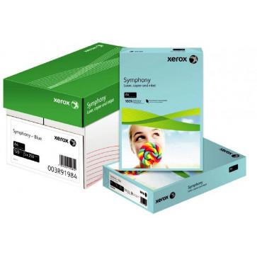 Hartie color A4, 80 g/mp, 5 x 50 coli/top, mix mediu-trend, XEROX Symphony