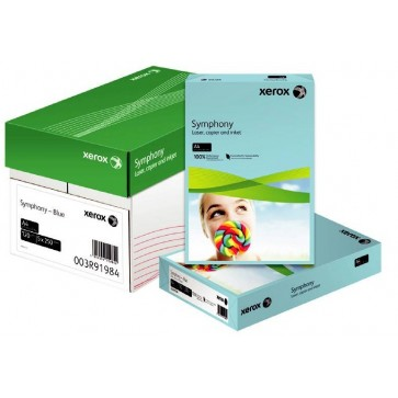 Hartie colorata, A4, 80 g/mp, galben neon (neon yellow), 500 coli/top, XEROX Symphony