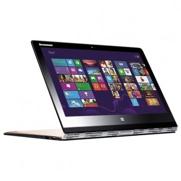Laptop 2 in 1, Intel® Core™ M-5Y71 pana la 2.9GHz, 13.3 QHD Touch Screen, 8GB, 256GB, Windows 8.1, LENOVO Yoga 3 Pro
