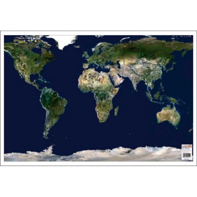 Harta Harta Lumii Din Satelit