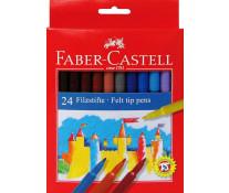 Carioci, 24 culori/set, FABER CASTELL