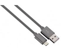 Cablu de incarcare / sincronizare Lightning pentru iPhone, HAMA Color Line, Anthracite, 1m