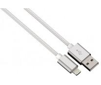 Cablu de incarcare / sincronizare Lightning pentru iPhone, HAMA Color Line, White, 1m