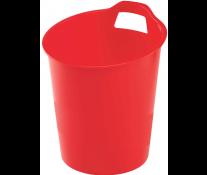 Cos de gunoi, 15L, rosu, FELLOWES Green2Desk