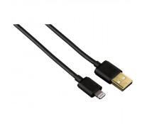 Cablu de date Lightning, 1.5m, negru, HAMA