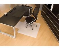 Protectie podea pentru suprafete dure, forma U, 130 x 120cm, RS OFFICE BSM