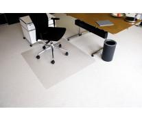 Protectie podea pentru covoare, forma O, 130 x 120cm, RS OFFICE EcoBlue