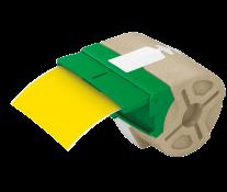 Cartus, plastic, 88mmx10m, plastic galben, adeziv permanent, LEITZ Icon