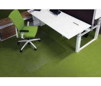 Protectie podea pentru covoare, forma O, 150 x 120cm, RS OFFICE EcoGrip