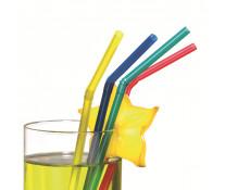 Paie flexibile, uni, diverse culori metalizate, 50 buc/set, HERLITZ